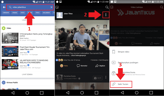 cara download video di facebook 2
