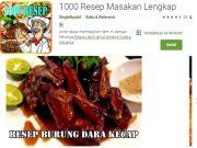 aplikasi resep masakan terlengkap