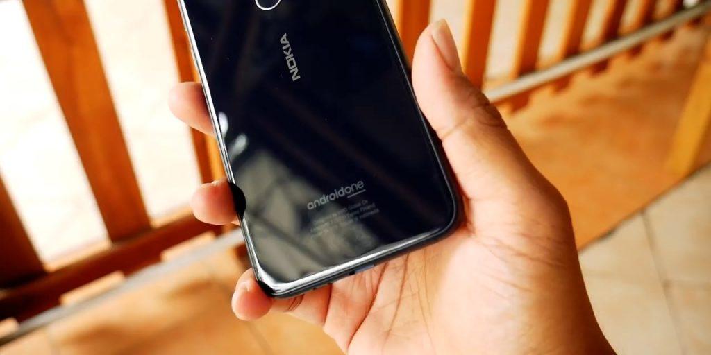 Nokia 6.1 plus belakang #3