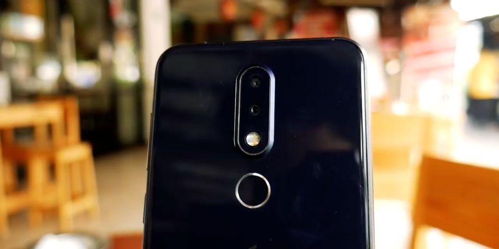 Nokia 6.1 plus kamera belakang #2