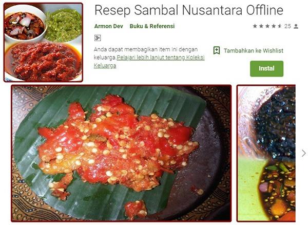 Resep Sambal Nusantara