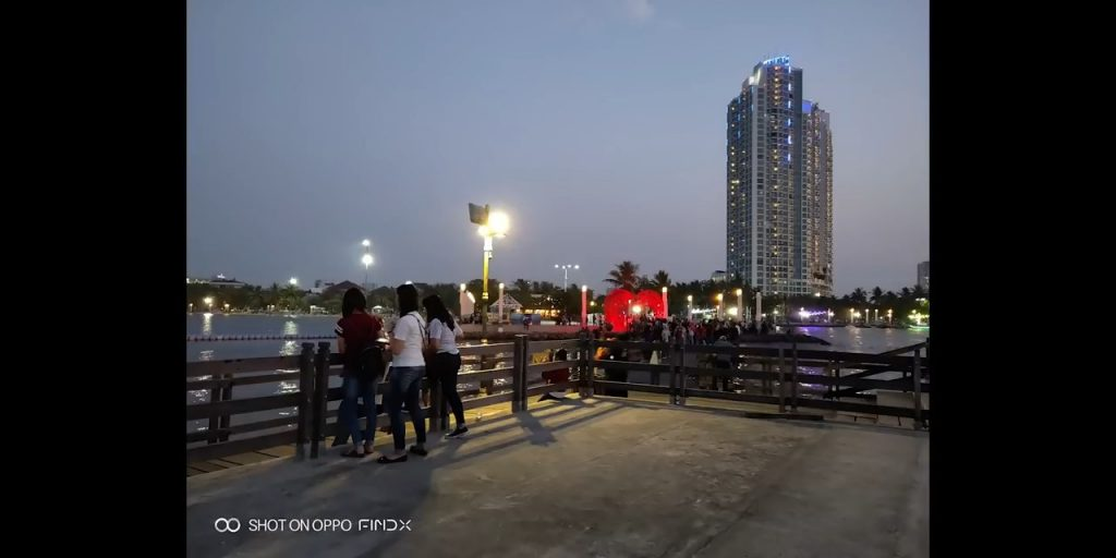 oppo find x hasil kamera belakang low light