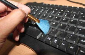 cara membersihkan laptop